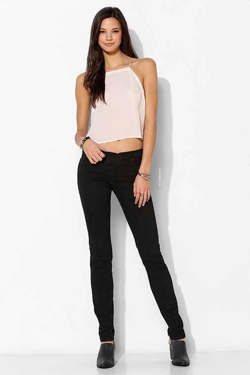 BDG black cigarette jeans
