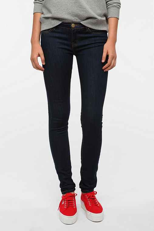 BDG Cigarette Mid-Rise Jean - Midnight Blue