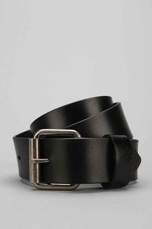 Sanded Leather Belt