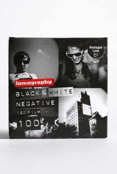 Lomography 120mm 100 Speed Black & White Film - Pack of 3