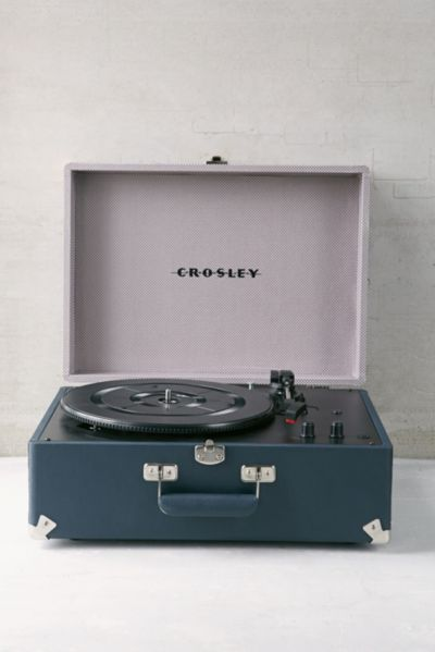 UO X Crosley AV Room Portable USB Vinyl Record Player
