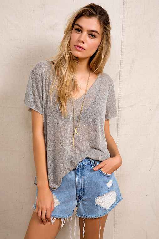 UrbanOutfitters.com > Urban Renewal Levi's Destroyed Denim Shorts :  jeans shorts denim urban outfitters