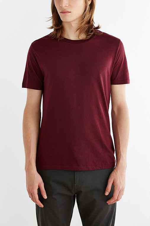 BDG Slim-Fit Cotton Crew-Neck Tee