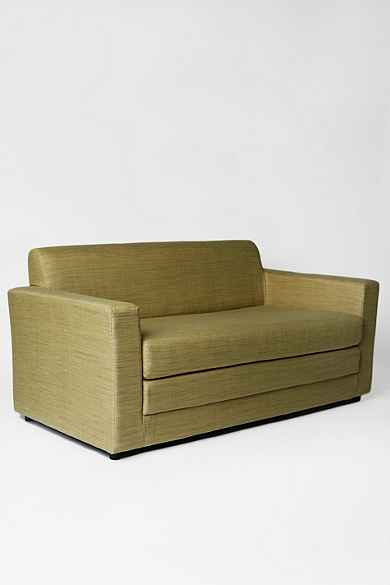 Small Compact Anywhere Sleeper Sofa In Grey Amp Green Tea At