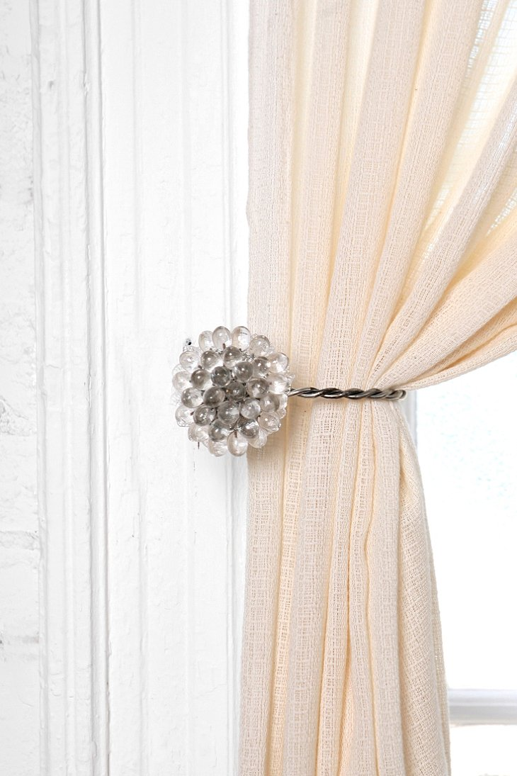 Decorative Curtain Tie Backs Shower Curtain Towel Hooks