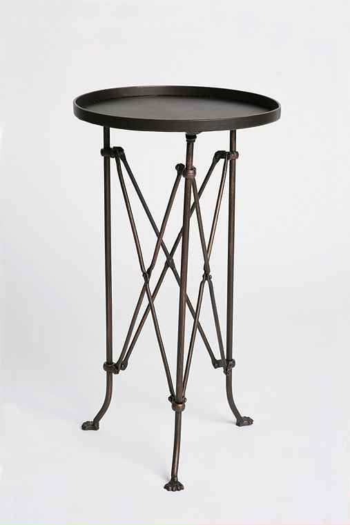 This small accent table looks great in any room  Perfect for a few books  a  cup of coffee  in a nursery  and would go perfect next to it s own chair. Designer Look  A Like  Director Table for Less    Just Destiny