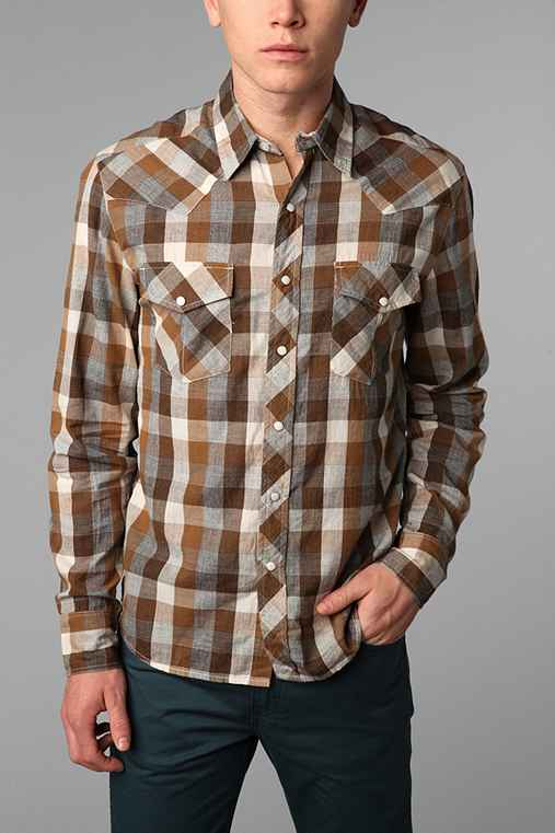 Salt Valley New Texas Plaid Western