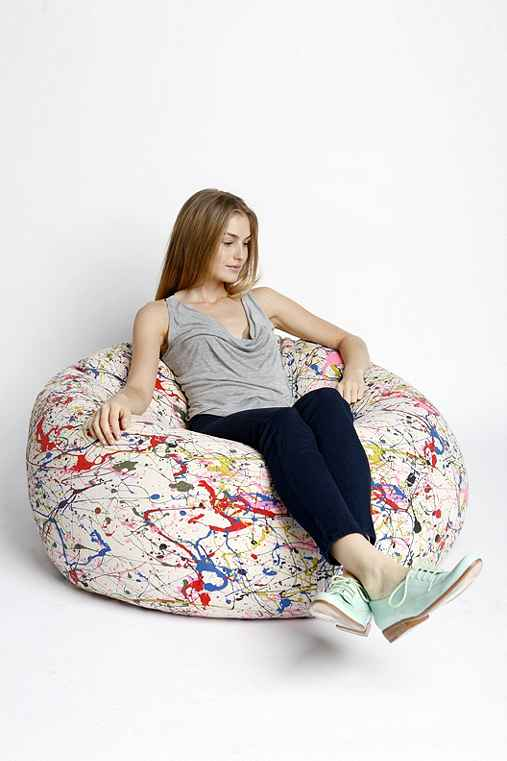 UrbanOutfitters.com > Neon Splatter Bean Bag ChairUrbanOutfitters.com > Official Site of Urban Outfitters > Shop Women's, Men's and Apartment :  home room chair bag