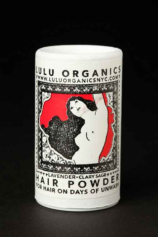 Lulu Organics - Hair Powder :  travel size hair products shampoo hair
