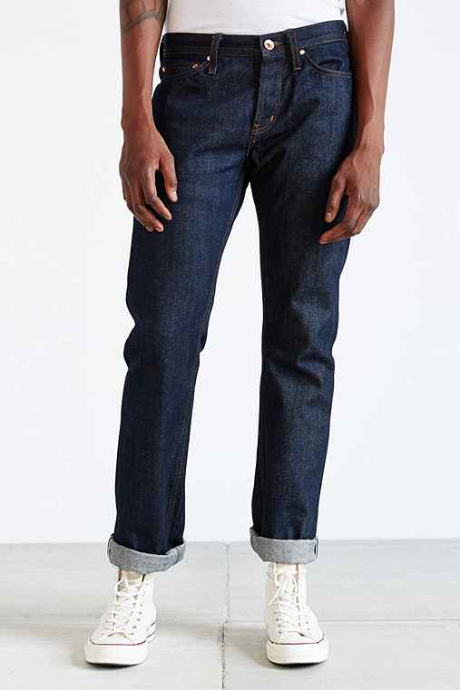 Unbranded Tapered Selvedge Jean,INDIGO,29