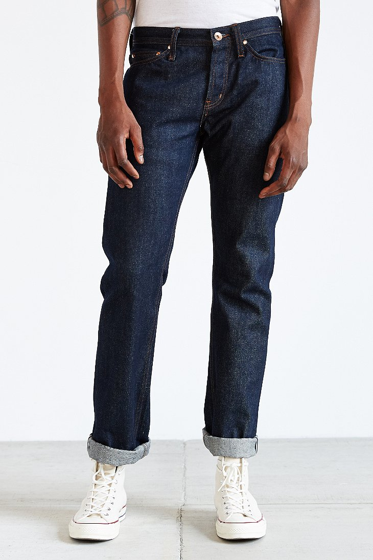 Loose Tapered Japanese Selvedge Jeans. £ Our Loose Tapered Fit is a classic 5 pocket relaxed fit jean with tapered leg and mid length comfoisinsi.tk: HAWKSMILL DENIM CO.