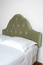 Tufted Headboard- Bella Lichen