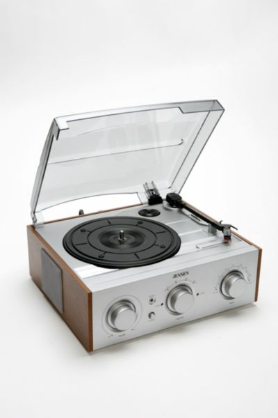 Jensen Wooden Record Player