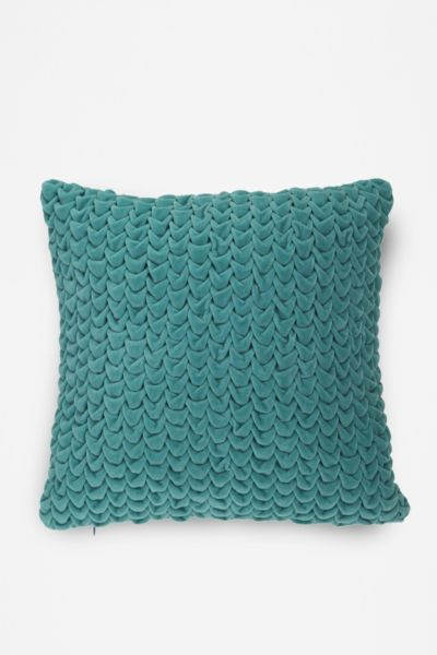 Hand Quilted Velvet Pillow