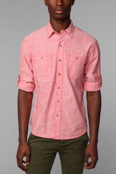 Stapleford Chambray Rollup Shirt