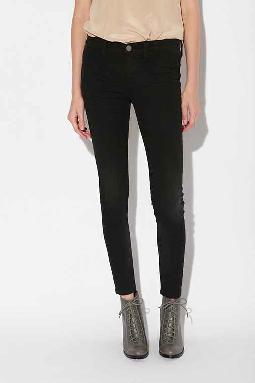 Silence + Noise Denim Legging - Washed Black