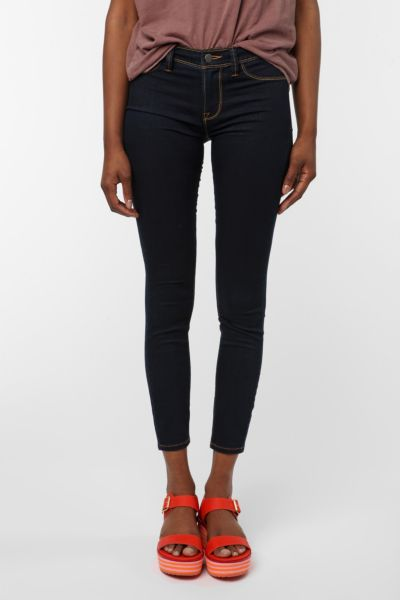 Silence & Noise Denim Legging - Washed Black -...