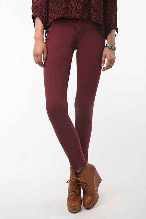 BDG Cigarette High-Rise Jean - Red
