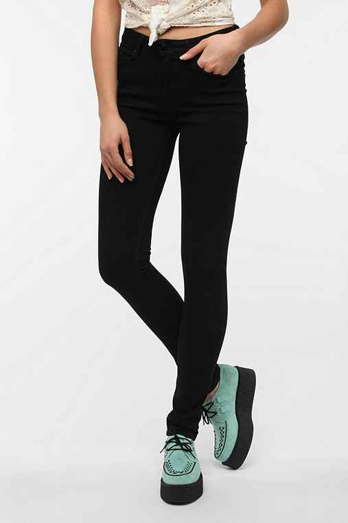 BDG Cigarette High-Rise Jean - Black - Urban Outfitters