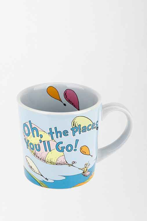 UrbanOutfitters.com > Dr Seuss Oh The Places You'll Go MugUrbanOutfitters.com > Official Site of Urban Outfitters > Shop Women's, Men's and Apartment :  home dr seuss mug
