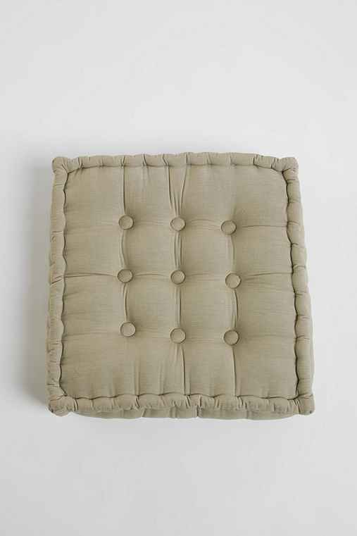 Thumbnail image for Tufted Corduroy Floor Pillow