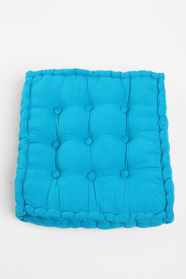 Square Tufted Floor Pillows : Tufted Corduroy Floor Pillow - Urban Outfitters