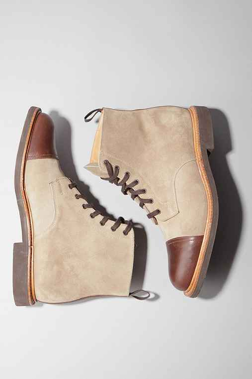 UrbanOutfitters.com > Mark McNairy New Amsterdam Boot :  suede brown eva tonal