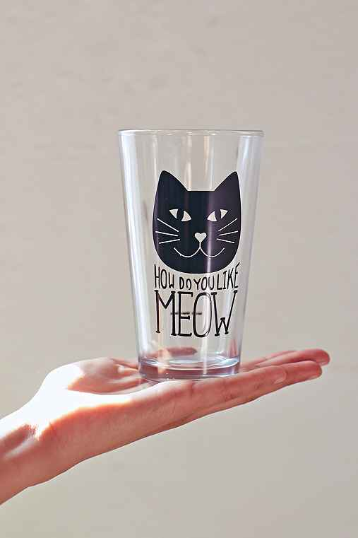 Meow Pint Glass