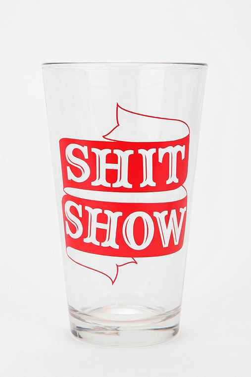 Showy Pint Glass