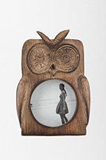 Wooden Owl Frame