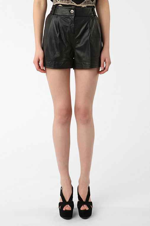 Sparkle & Fade - Leather Short from urbanoutfitters.com