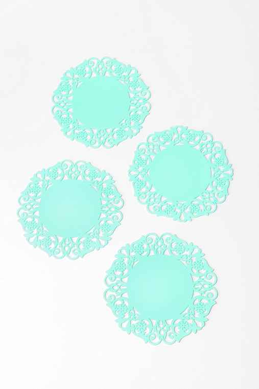 Doily Coaster - Set of 4