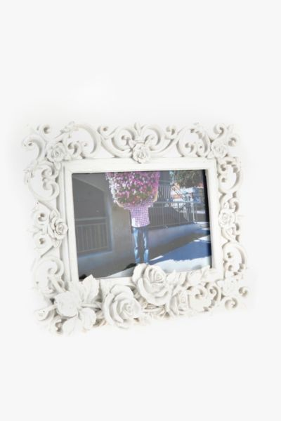 Ornate Rose Frame