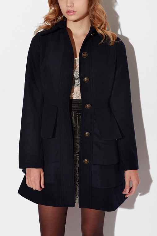 Tiered Lady Coat