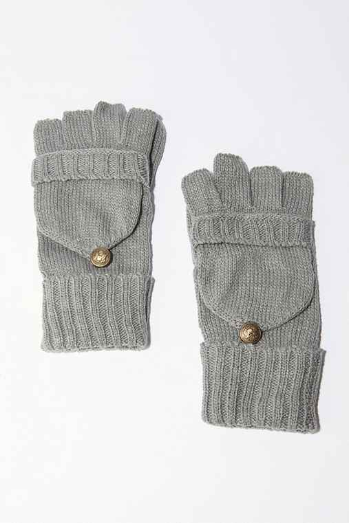 BDG Convertible Gloves :  winter 2010 convertable gloves gloves bdg