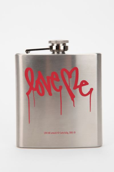 Love Me By Curtis Kulig Flask