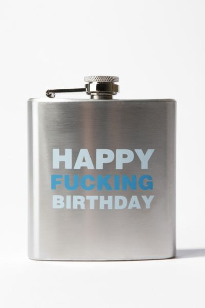 Happy F*Cking Birthday 6oz Flask