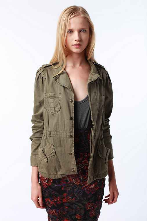 UrbanOutfitters.com > Ecote Military Detail Surplus Jacket :  jacket boot camp marines military