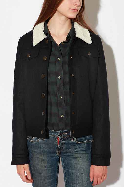 UrbanOutfitters.- Character Hero Wool Boy Coat :  winter coat coat wool coat character hero wool boy coat