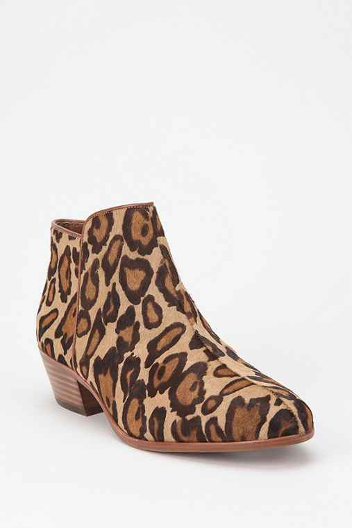 Sam Edelman Leopard Petty Boot