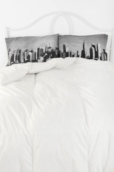 NYC Skyline Pillowcase - Set Of 2