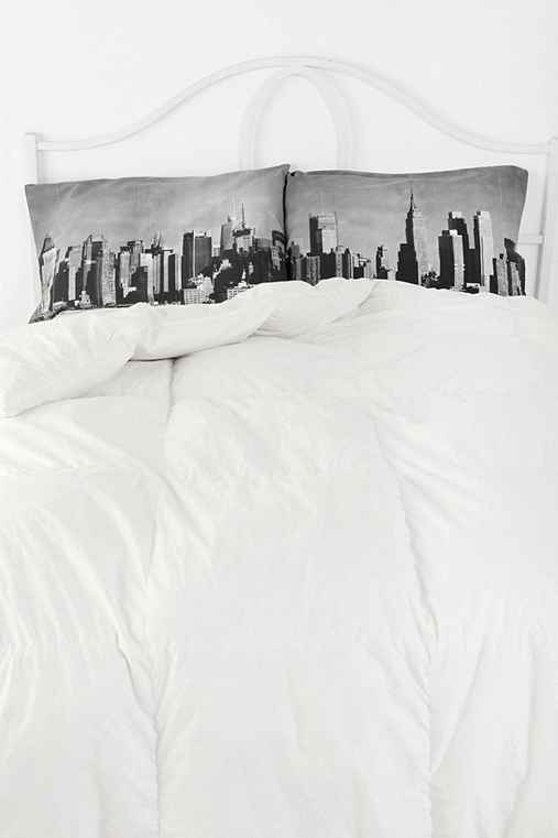 NYC Skyline Pillowcase - Set Of 2
