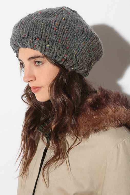 BDG Rainbow Flecked Beret