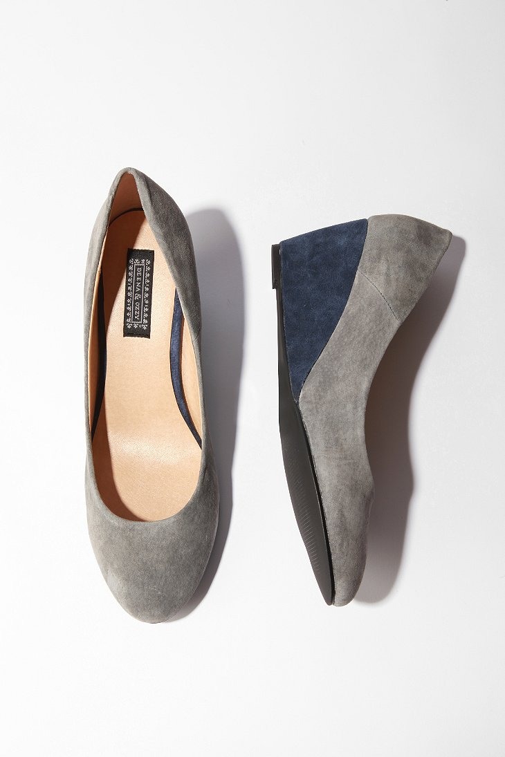 UrbanOutfitters.com > Deena & Ozzy Colorblock Wedge