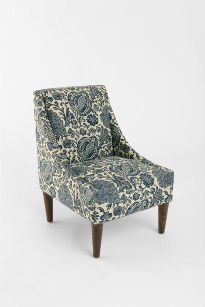 Slope Chair - Batik Ink