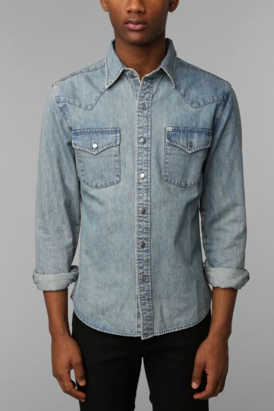 Salt Valley Denim Western Shirt