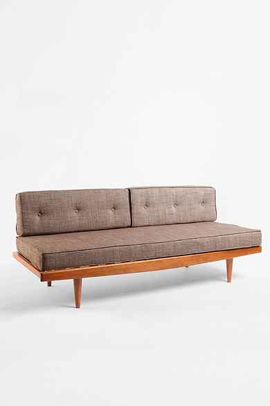 Mid-Century Sofa - Taupe