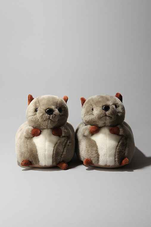 Urban Outfitters Squirrel Slippers