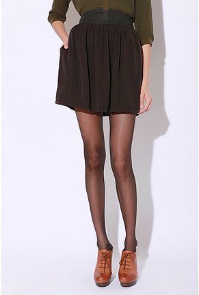 Silence & Noise - Cutout Ballerina Skirt :  mini black mini skirt urban outfitters black skirt