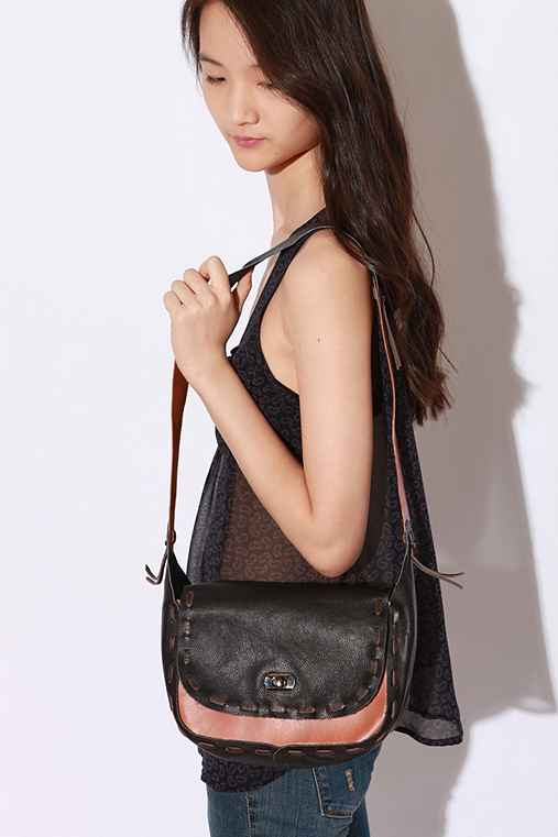 UrbanOutfitters.com > Ecote Whipstitched Leather Bag